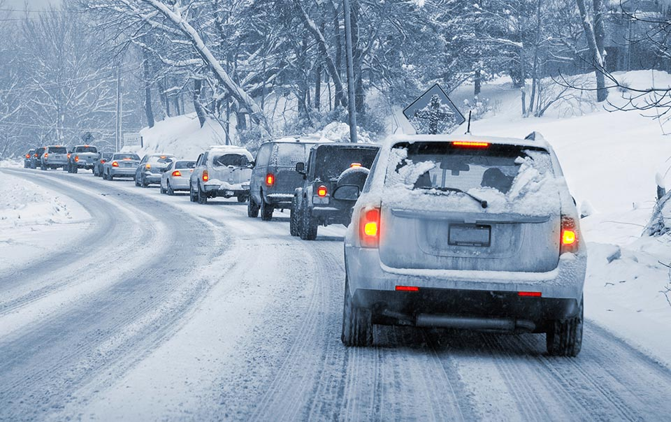 EXTRASHADE winter drive Safety: Tips for Winter Conditions