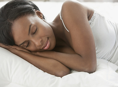 black woman sleeping Are you getting enough sleep?