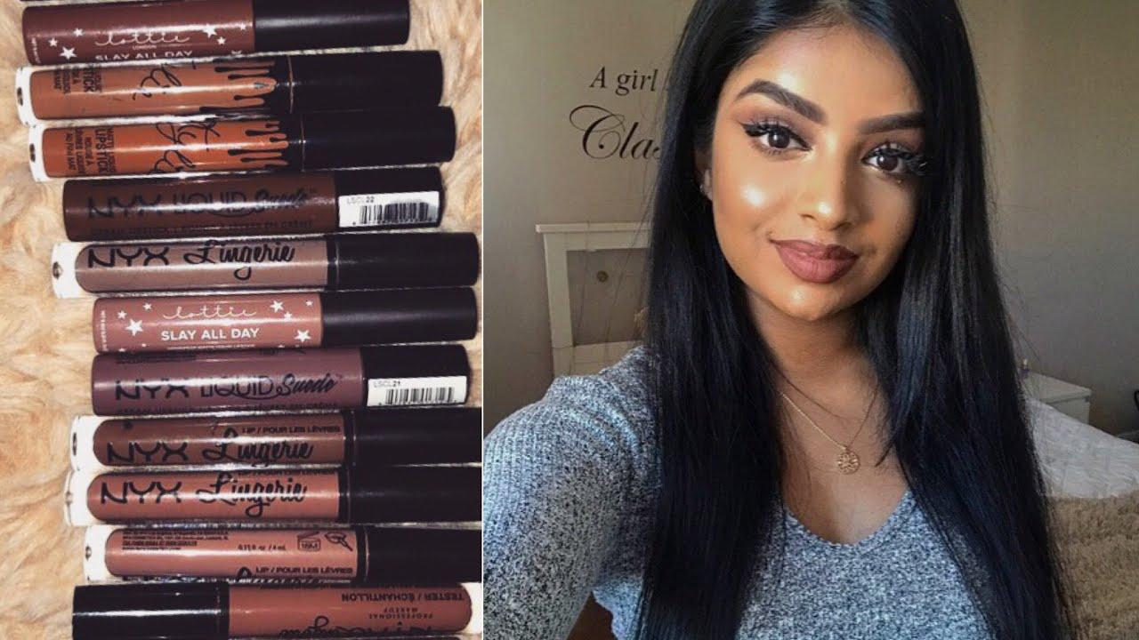 Top Brownnude Lipsticks For Medium Brown Skin Tone -8938