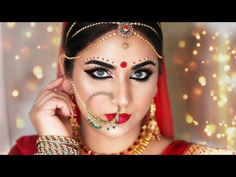 Glamorous Bengali Bridal Makeup | Indian Bridal Makeup Tutorial | SmithaDBeauty