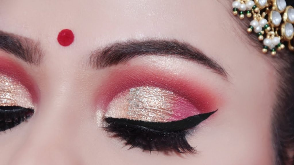 Indian Bridal Eye Makeup Tutorial Saubhaya Makeup