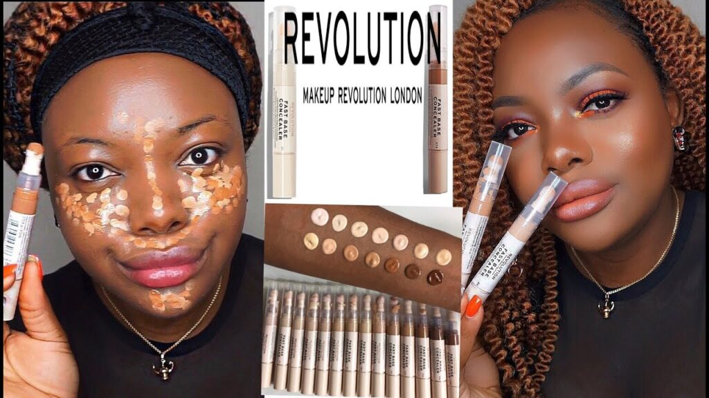 5 Concealer Review FT Makeup Revolution Fast Base Concealer