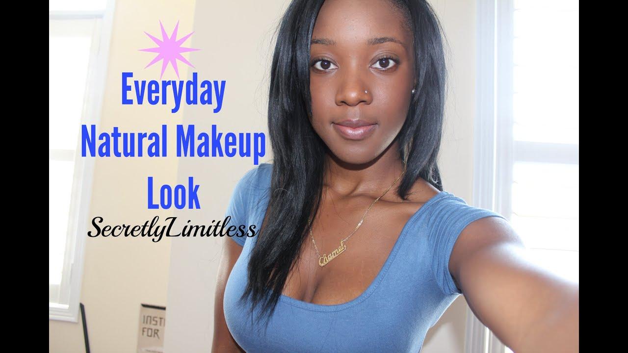 How To No Makeup Makeup Tutorial Basic Foundation Routine For Dark Skin Extrashade